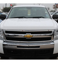 chevrolet silverado 1500 2011 white pickup truck lt flex fuel 8 cylinders 2 wheel drive automatic with overdrive 77090