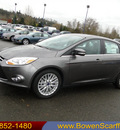 ford focus 2012 gray sedan sel gasoline 4 cylinders front wheel drive automatic 98032