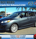 mazda mazda5 2012 gray wagon grand touring gasoline 4 cylinders front wheel drive automatic 32901
