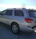 toyota sequoia 2010 silver suv limited gasoline 8 cylinders 2 wheel drive automatic 75503