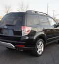 subaru forester 2009 black suv 2 5 x premium gasoline 4 cylinders all whee drive automatic 08753