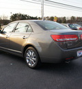 lincoln mkz 2010 lt  brown sedan gasoline 6 cylinders front wheel drive automatic 08753