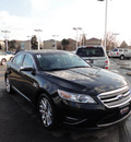 ford taurus 2011 black sedan limited gasoline 6 cylinders front wheel drive automatic with overdrive 60546
