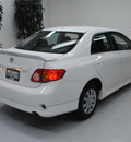 toyota corolla 2010 white sedan s gasoline 4 cylinders front wheel drive automatic 91731
