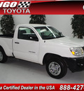 toyota tacoma 2008 white gasoline 4 cylinders 2 wheel drive automatic 91731