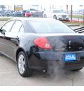 pontiac g6 2008 black sedan gt gasoline 6 cylinders front wheel drive automatic 77037