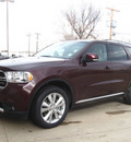 dodge durango 2012 red suv crew gasoline 8 cylinders all whee drive automatic 80301