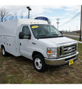 ford e 350 2008 white super duty 8 cylinders automatic with overdrive 07724