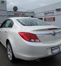 buick regal 2012 white sedan premium 3 turbo gasoline 4 cylinders front wheel drive automatic 45324