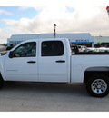 chevrolet silverado 1500 2011 white lt flex fuel 8 cylinders 2 wheel drive automatic with overdrive 77090