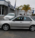 subaru impreza 2006 silver wagon 2 5 i gasoline 4 cylinders all whee drive automatic 94063