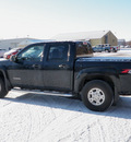 chevrolet colorado 2005 black crew cab ls z71 4x4 gasoline 5 cylinders 4 wheel drive automatic 55318