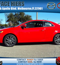 kia forte 2012 red coupe sx gasoline 4 cylinders front wheel drive 6 speed manual 32901
