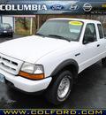 ford ranger 1999 white xl flex fuel v6 4 wheel drive 5 speed manual 98632