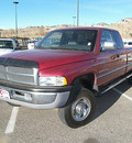 dodge 2500 ram 1997 red laramie slt gasoline v10 4 wheel drive automatic 81212