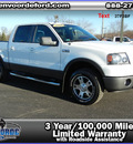 ford f 150 2008 white pickup truck supercrew fx4 off road flex fuel 8 cylinders 4 wheel drive automatic 56301
