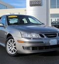 saab 9 3 2004 gray sedan arc gasoline 4 cylinders front wheel drive automatic 46410