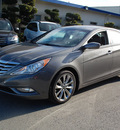 hyundai sonata 2012 dk  gray sedan se gasoline 4 cylinders front wheel drive automatic 94010
