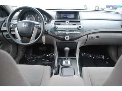 honda accord 2010 dk  gray sedan lx gasoline 4 cylinders front wheel drive automatic 77065
