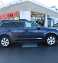 subaru outback 2010 azurite blue wagon 2 5i premium gasoline 4 cylinders all whee drive automatic 07701