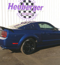 ford mustang 2008 vista blue coupe gt premium gasoline 8 cylinders rear wheel drive automatic 80905
