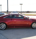 cadillac cts v 2012 red coupe gasoline 8 cylinders rear wheel drive automatic 76087