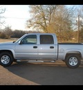 chevrolet silverado 1500 2006 silver pickup truck lt1 gasoline 8 cylinders 4 wheel drive 4 speed automatic 75570