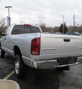 dodge ram 2500 2004 silver pickup truck st gasoline 8 cylinders 4 wheel drive automatic 13502