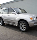 toyota land cruiser 2002 gray suv gasoline 8 cylinders 4 wheel drive automatic with overdrive 98371