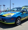 ford focus 2001 yellow hatchback zx3 custom sound system gasoline 4 cylinders front wheel drive 5 speed manual 56301