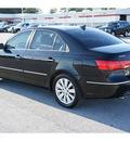 hyundai sonata 2009 black sedan se v6 gasoline 6 cylinders front wheel drive automatic 77388
