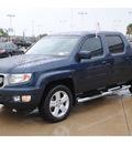 honda ridgeline 2010 blue pickup truck rtl gasoline 6 cylinders 4 wheel drive automatic 77065