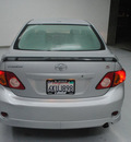 toyota corolla 2010 silver sedan s gasoline 4 cylinders front wheel drive 5 speed manual 91731