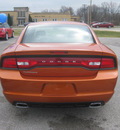 dodge charger 2011 orange sedan se gasoline 6 cylinders rear wheel drive autostick 62863