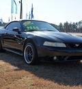 ford mustang svt cobra 1999 black gasoline v8 dohc rear wheel drive 5 speed manual 27569