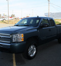chevrolet silverado 1500 2009 blue pickup truck z71 flex fuel 8 cylinders 2 wheel drive automatic 27215