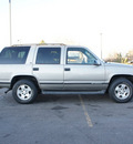 chevrolet tahoe 1999 pewter suv lt 4x4 leather gasoline v8 4 wheel drive automatic with overdrive 80012