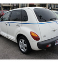 chrysler pt cruiser 2002 white wagon touring edition gasoline 4 cylinders front wheel drive automatic 47130