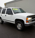 chevrolet tahoe 1996 white suv lt gasoline v8 4 wheel drive automatic 98371