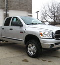 dodge ram pickup 2500 2007 silver slt big horn diesel 6 cylinders 4 wheel drive automatic 80301