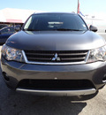 mitsubishi outlander 2007 gray suv xls gasoline 6 cylinders front wheel drive automatic 33157