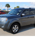 honda pilot 2011 dk  gray suv ex l gasoline 6 cylinders 2 wheel drive automatic with overdrive 77065