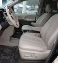 toyota sienna 2011 black van xle 8 passenger gasoline 6 cylinders front wheel drive automatic 45036