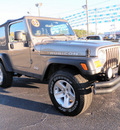 jeep wrangler 2003 beige suv rubicon gasoline 6 cylinders 4 wheel drive automatic 32401