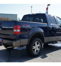 ford f 150 2007 blue fx4 flex fuel 8 cylinders 4 wheel drive automatic with overdrive 77090
