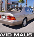 lexus ls400 1997 gold sedan gasoline v8 rear wheel drive automatic 32771