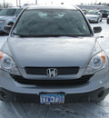 honda cr v 2007 silver suv lx gasoline 4 cylinders all whee drive automatic with overdrive 55811