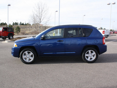jeep compass 2009 blue suv sport gasoline 4 cylinders 4 wheel drive automatic 80126