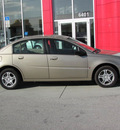 saturn ion 2 2006 beige sedan gasoline 4 cylinders front wheel drive automatic 33884