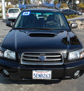 subaru forester 2004 black suv xt gasoline 4 cylinders all whee drive automatic 94063